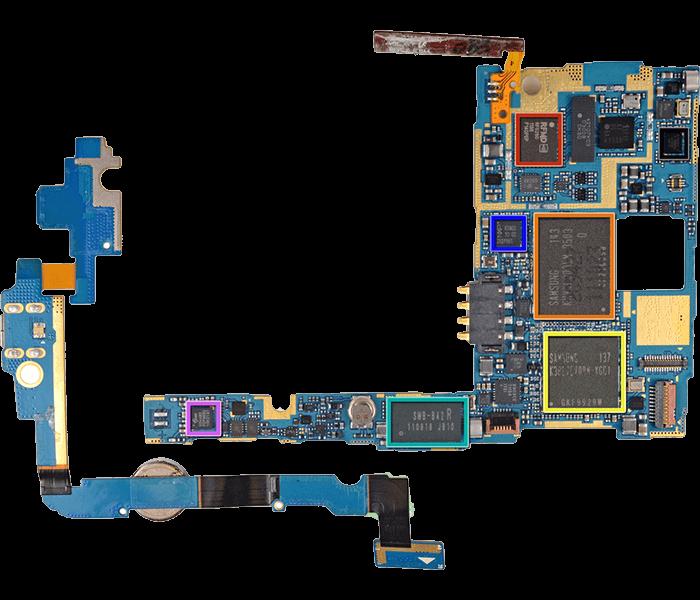 Замена контроллера питания в планшетах Samsung Galaxy Tab
