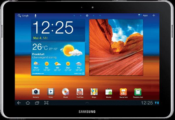 Ремонт Samsung Galaxy Tab 1N P7511 32Gb